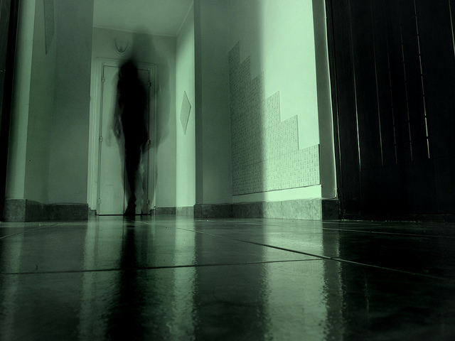 Ghosts in hall
