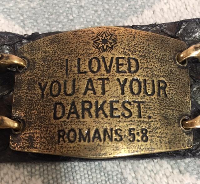 At your darkest