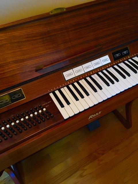 Grandma's organ