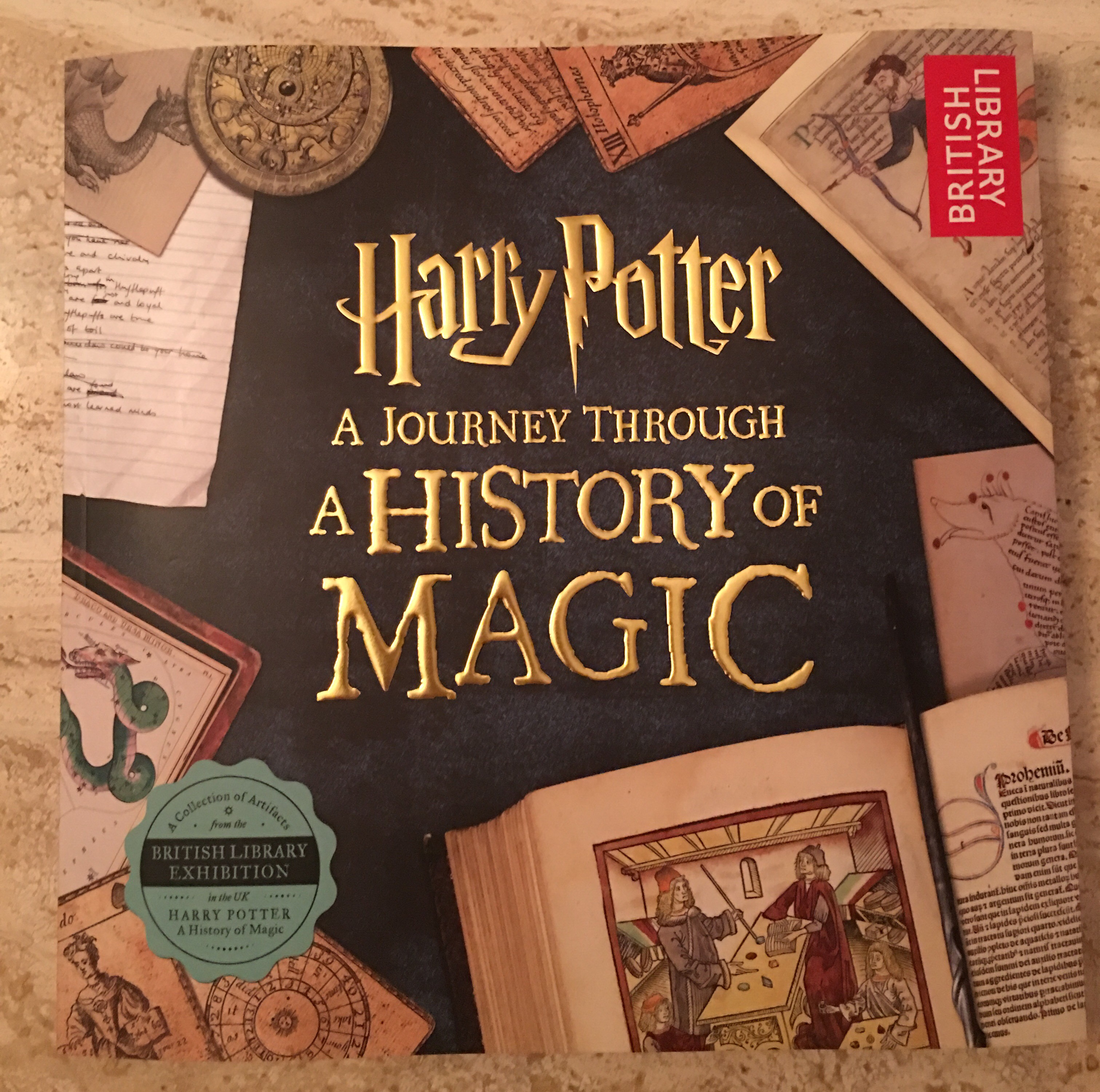 harry potter lit bits and pieces the thing i love most about the newly released harry potter a journey through a history of magic isn t the astonishing wealth of research the fascinating