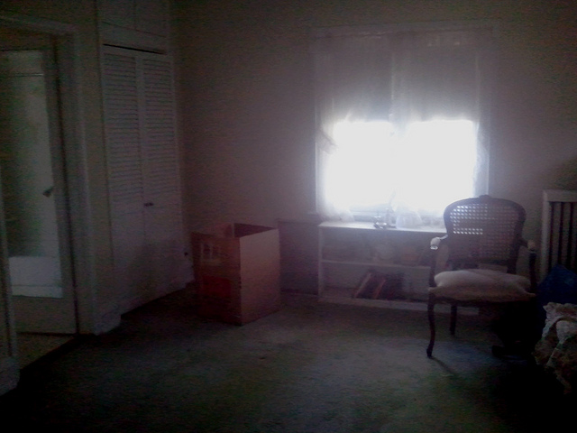 Mom's empty room